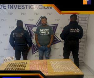 Detiene Policía Estatal a presunto asaltante de transporte de carga